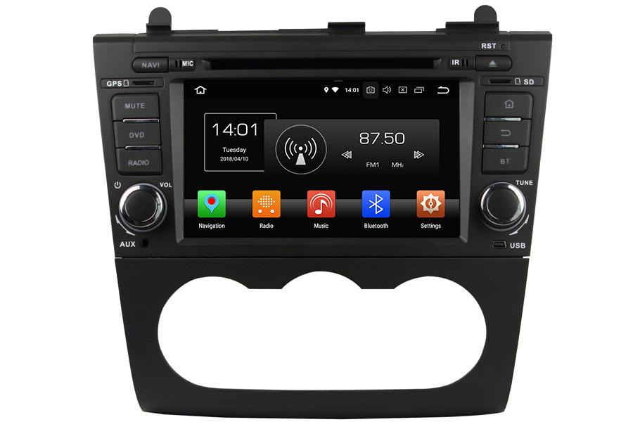 Nissan Altima 2006-2012 Autoradio GPS Aftermarket Android Head Unit Navigation Car Stereo