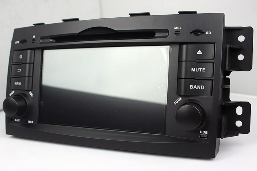 Kia Borrego/Mohave 2008-2012 Aftermarket Radio Upgrade