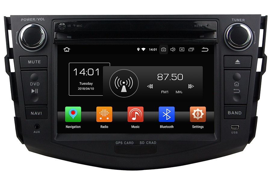 Toyota RAV4 2006-2012 Autoradio GPS Aftermarket Android Head Unit Navigation Car Stereo