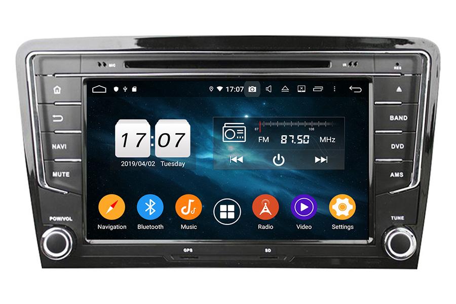 VW Golf 2013-2015 Autoradio GPS Aftermarket Android Head Unit Navigation Car Stereo