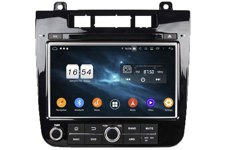 VW Touareg 2011-2014 Autoradio GPS Aftermarket Android Head Unit Navigation Car Stereo