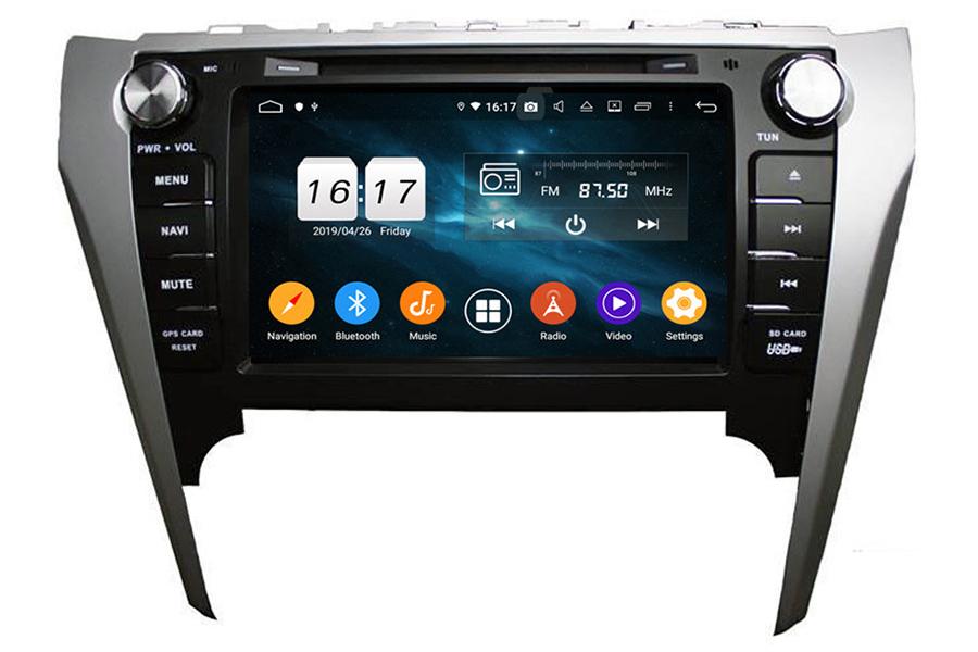Toyota Camry 2012-2014 Aftermarket Radio Upgrade