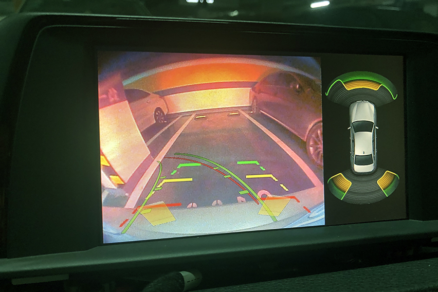 BMW CIC Aftermarket Rearview Camera System