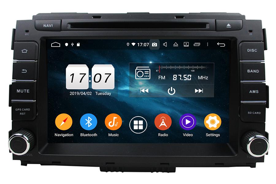 KIA Carnival/Sedona 2015-2019 Autoradio GPS Aftermarket Android Head Unit Navigation Car Stereo
