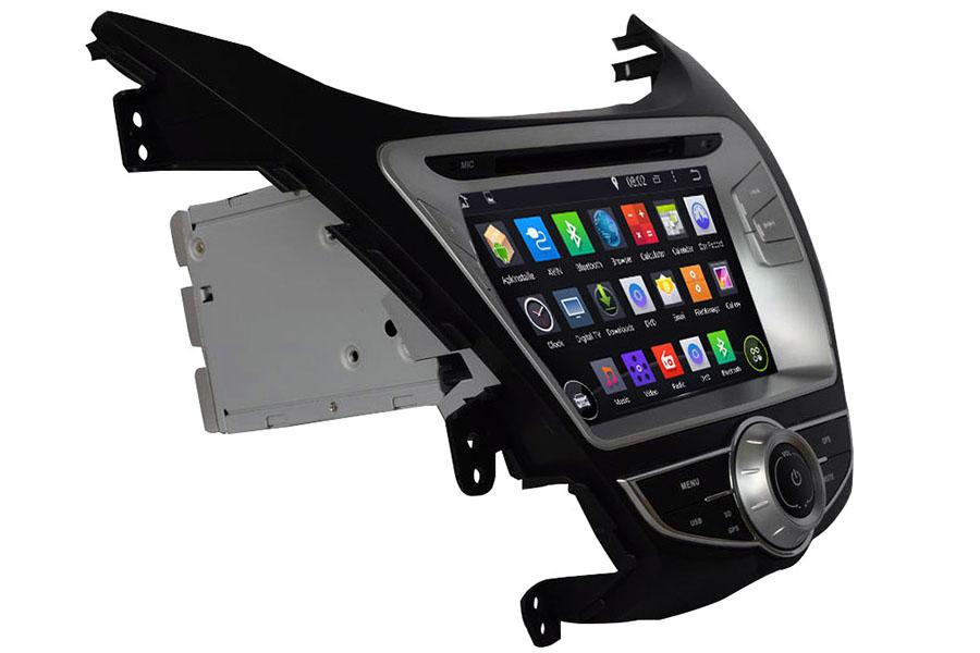 Hyundai Elantra 2011-2016 Autoradio GPS Aftermarket Android Head Unit Navigation Car Stereo
