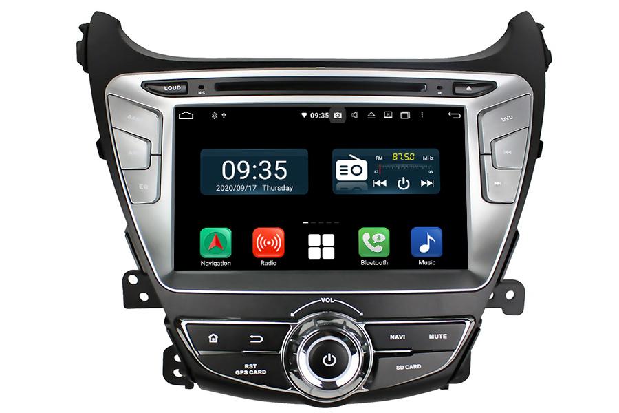 Hyundai Elantra 2014-2016 Aftermarket Radio Upgrade