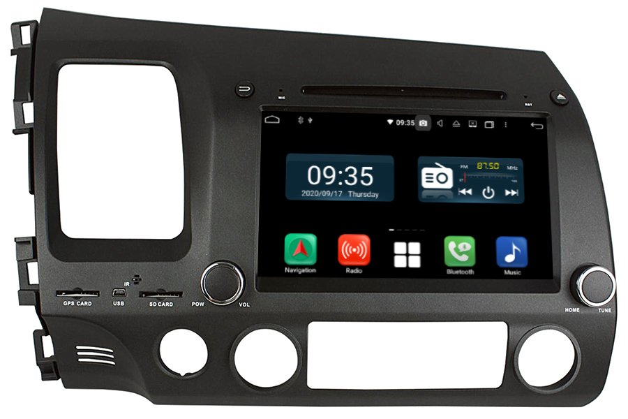 Honda Civic 2006-2011 LHD Aftermarket Radio Upgrade