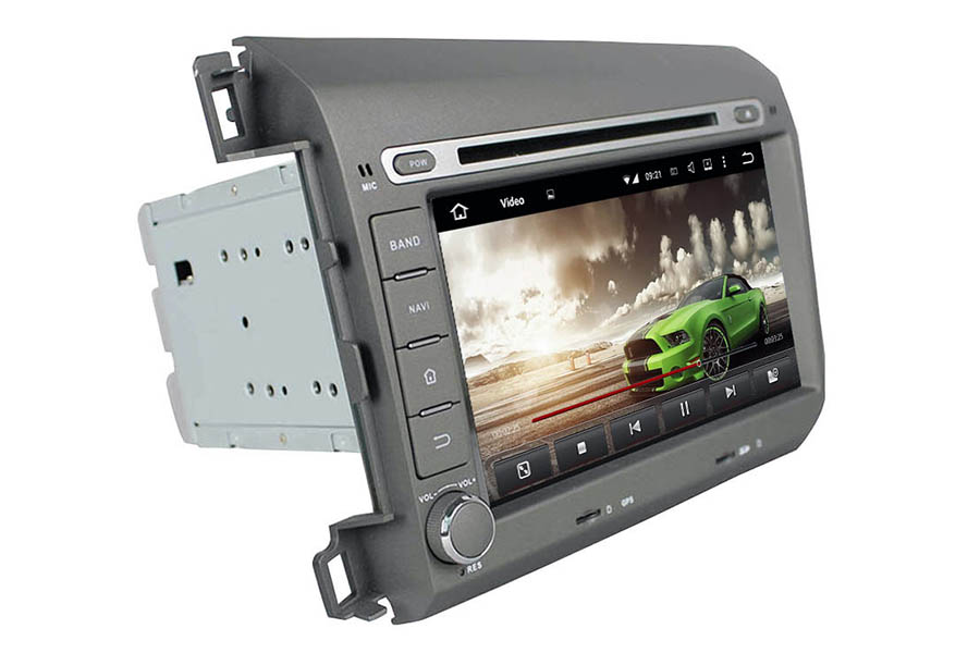 Honda Civic 2012-2015 Aftermarket Radio Upgrade