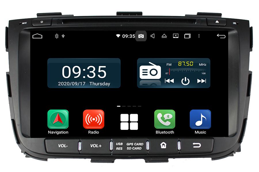 Kia Sorento 2013-2014 Autoradio GPS Aftermarket Android Head Unit Navigation Car Stereo
