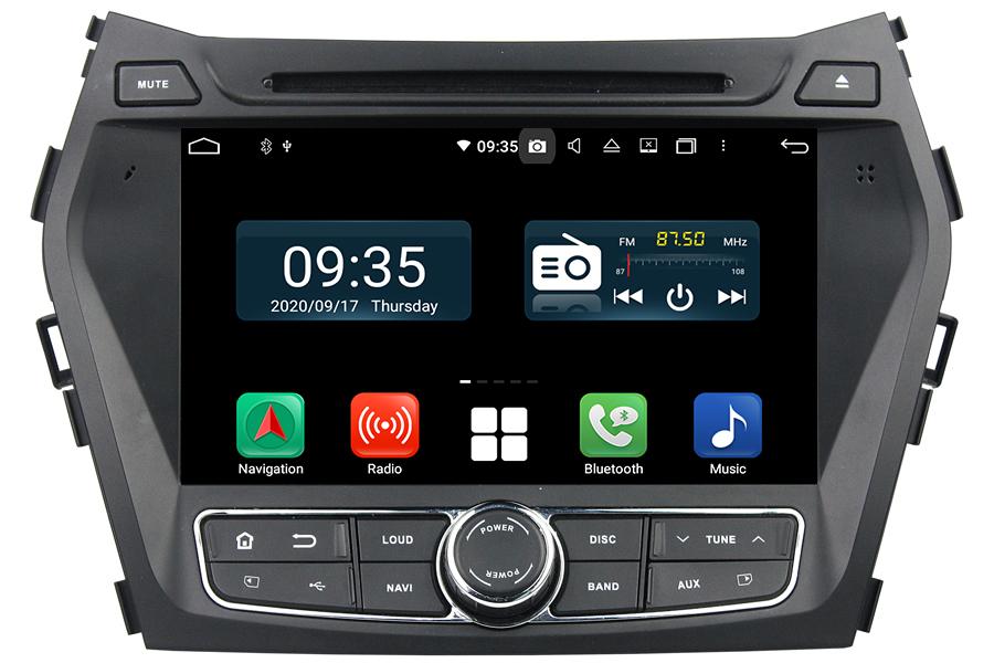 Hyundai Santa Fe/IX45 2013-2017 Autoradio GPS Aftermarket Android Head Unit Navigation Car Stereo