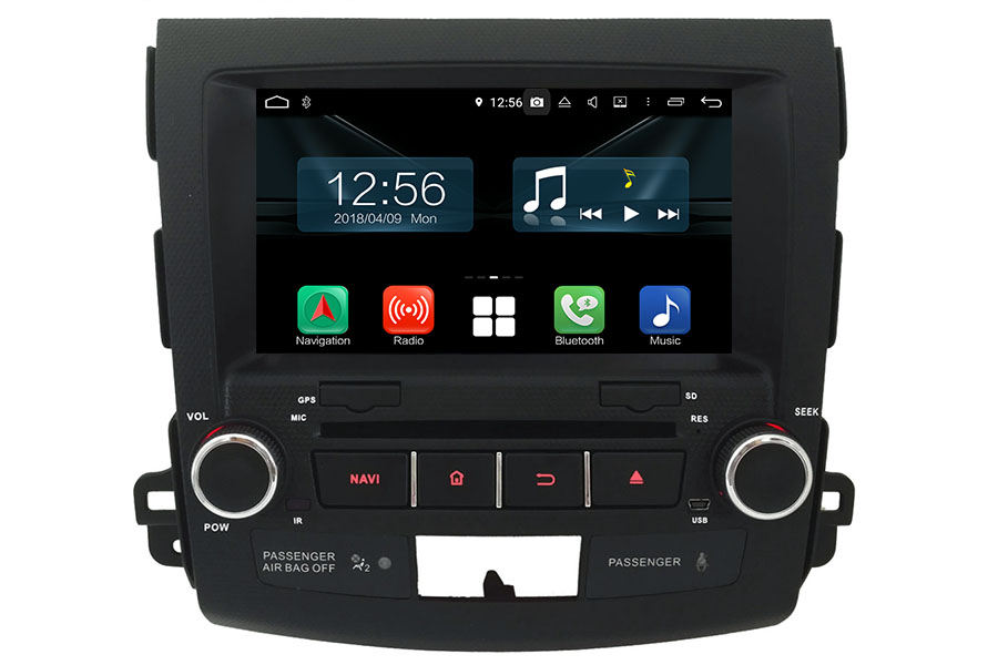 Mitsubishi Outlander 2007-2013 Autoradio GPS Aftermarket Android Head Unit Navigation Car Stereo