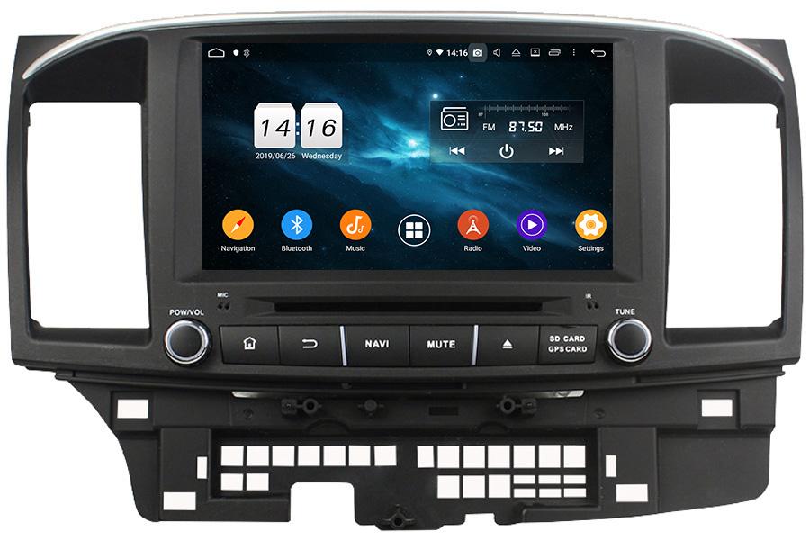 Mitsubishi Lancer 2014-2018 Autoradio GPS Aftermarket Android Head Unit Navigation Car Stereo