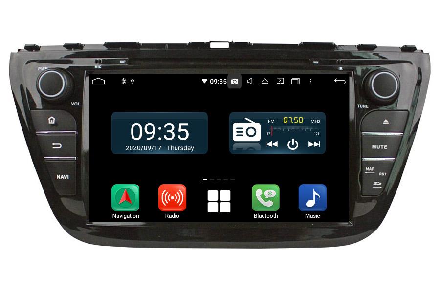 Suzuki S-Cross 2013-2016 Aftermarket Radio Upgrade