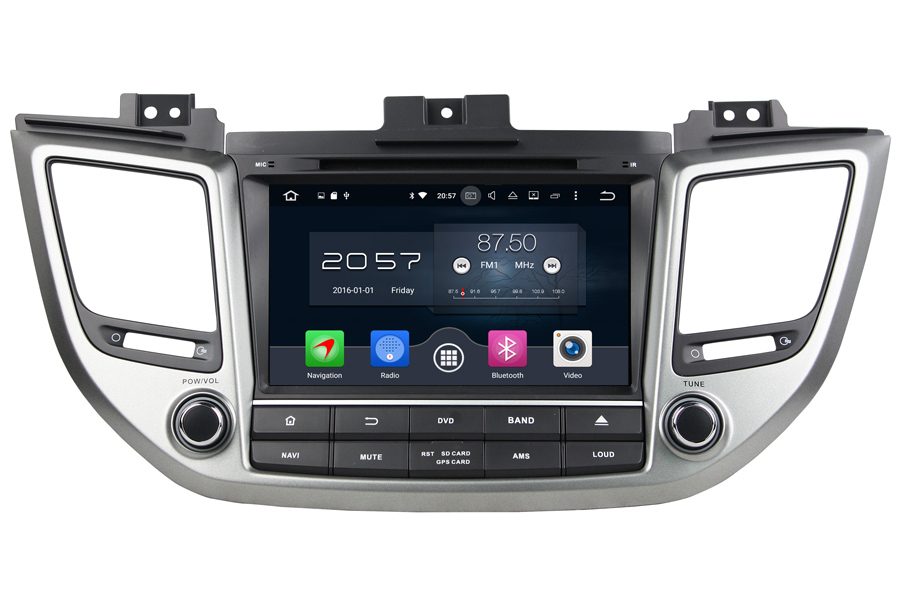 Hyundai IX35/Tucson 2015-2017 Autoradio GPS Aftermarket Android Head Unit Navigation Car Stereo