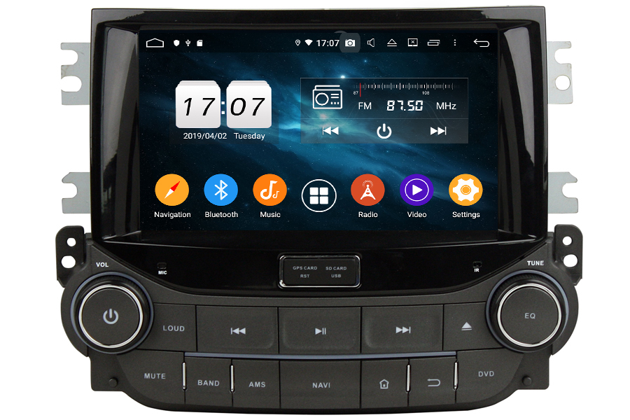 Chevrolet Malibu 2013-2015 Autoradio GPS Aftermarket Android Head Unit Navigation Car Stereo