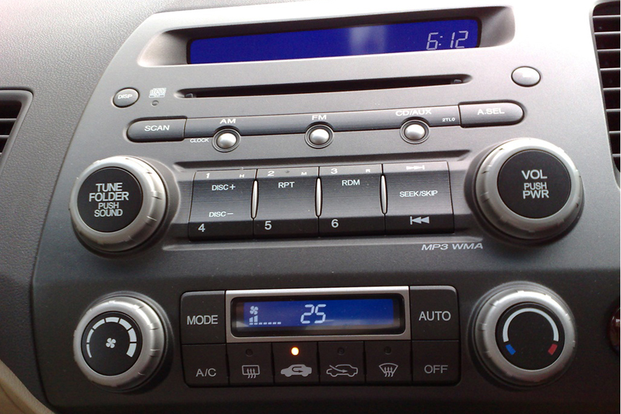 Honda Civic 2006-2011 RHD Autoradio GPS Aftermarket Android Head Unit Navigation Car Stereo