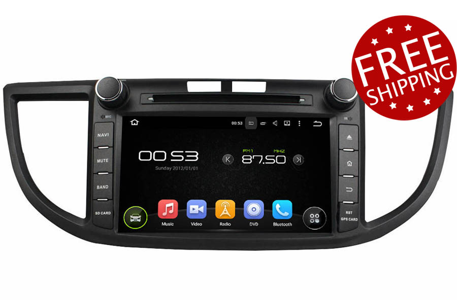 Honda CR-V 2012-2016 Autoradio GPS Aftermarket Android Head Unit Navigation Car Stereo