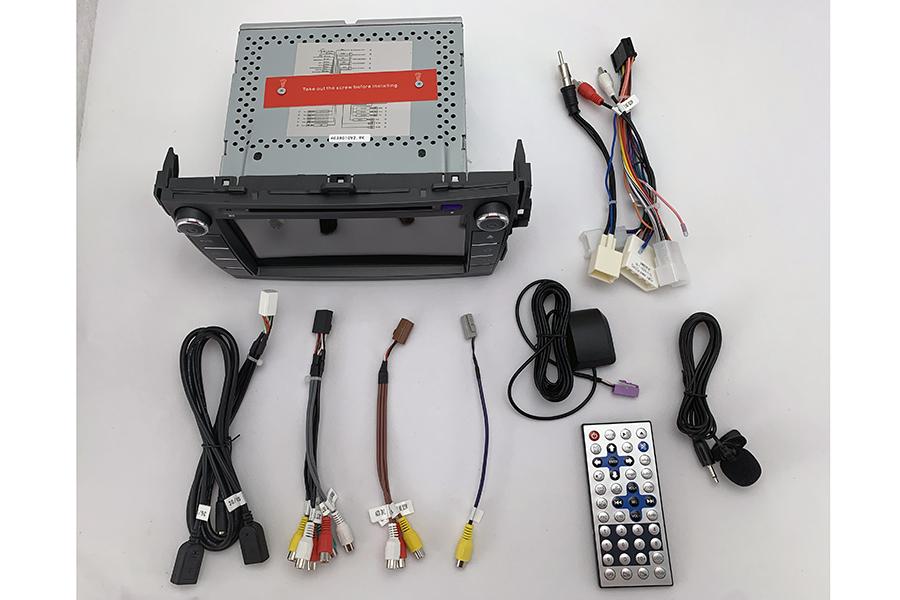 Toyota Corolla 2007-2013 Aftermarket Radio Upgrade