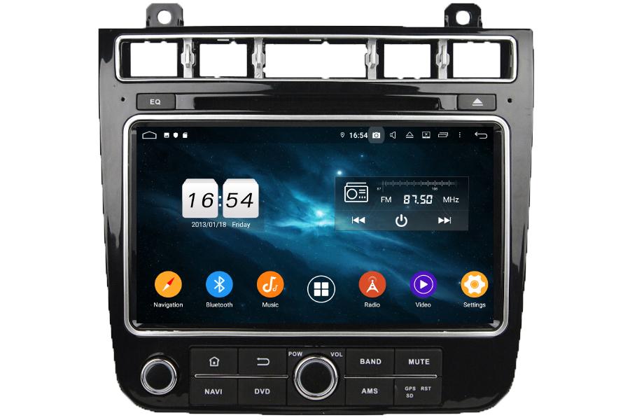 VW Touareg 2015-2017 Autoradio GPS Aftermarket Android Head Unit Navigation Car Stereo
