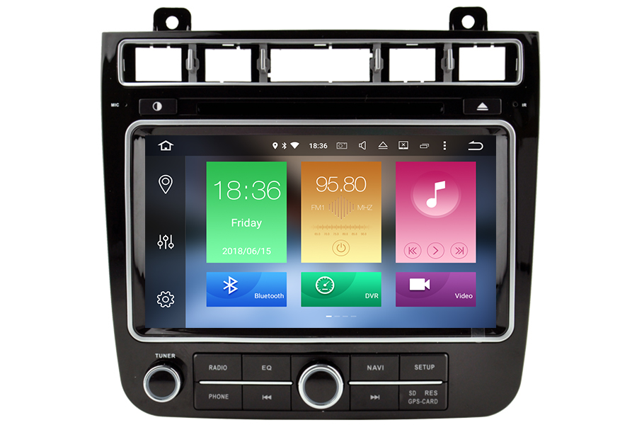 VW Touareg 2015-2017 Aftermarket Android Head Unit Navigation