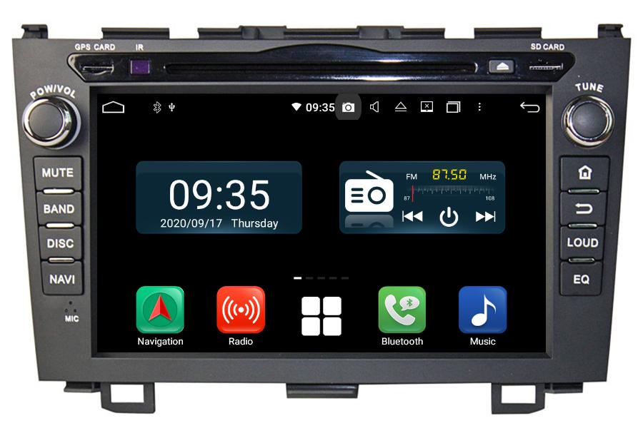 Honda CR-V 2006-2011 Autoradio GPS Aftermarket Android Head Unit Navigation Car Stereo
