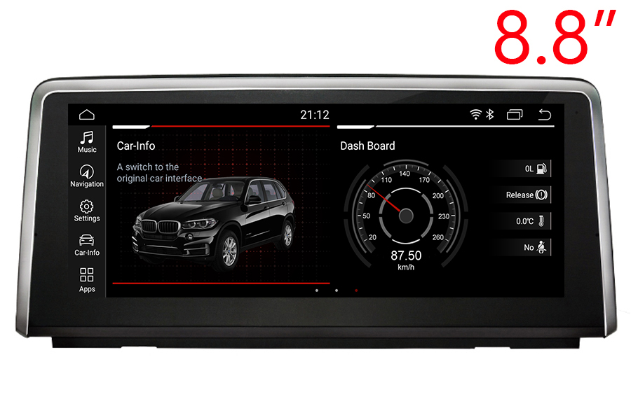 BMW 1 Series (F20/F21) 2017-2018 Autoradio GPS Aftermarket Android Head Unit Navigation Car Stereo