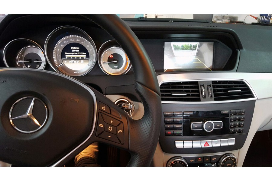 Mercedes-Benz C-Class (W204) 2011-2014 Autoradio GPS Aftermarket Android Head Unit Navigation Car Stereo