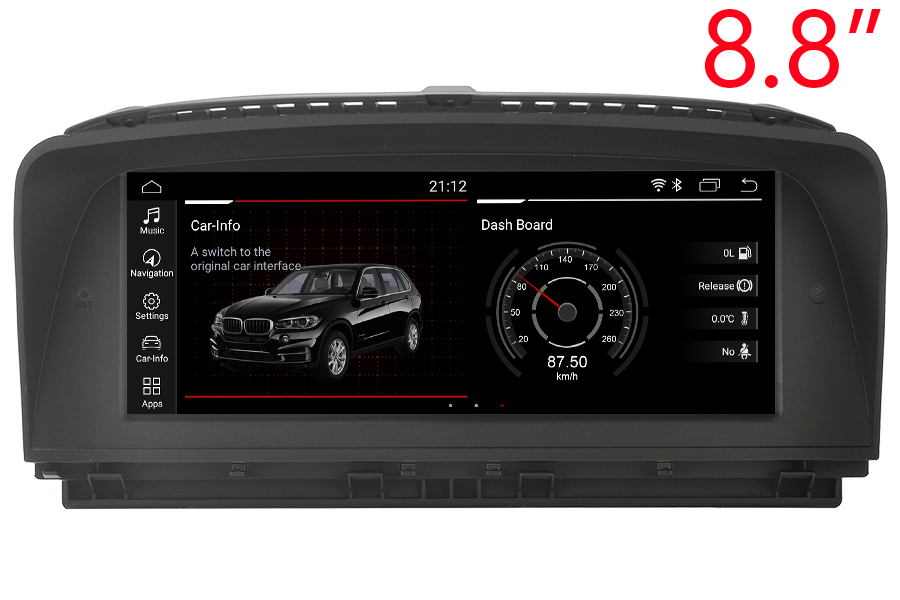 BMW 7 Series (E65/E66) 2001-2008 Autoradio GPS Aftermarket Android Head Unit Navigation Car Stereo