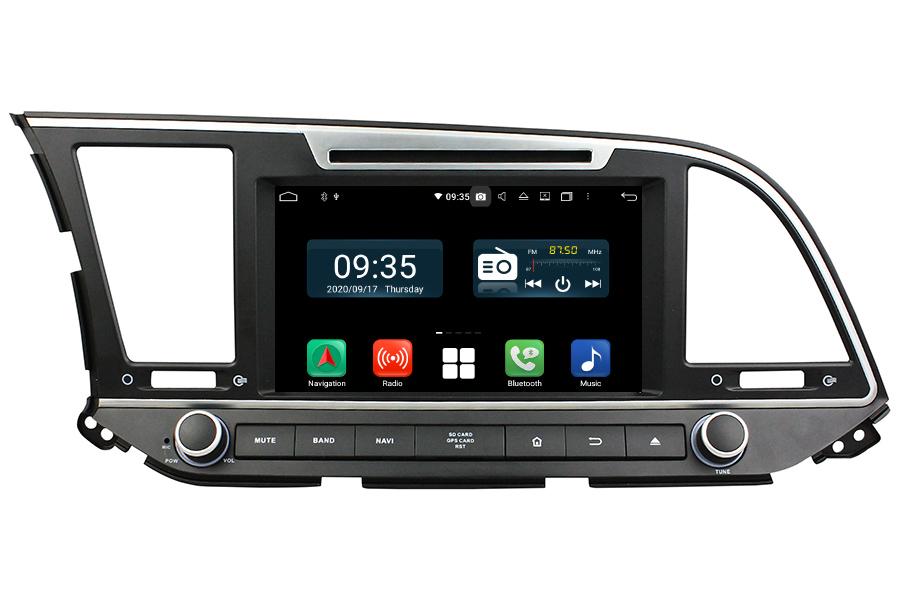 Hyundai Elantra 2016-2018 LHD Aftermarket Radio Upgrade