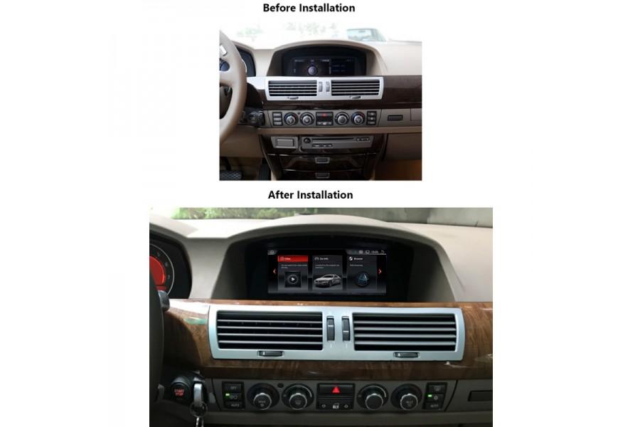 BMW 7 Series (E65/E66) 2001-2008 Radio upgrade 4g/32gb 6-core Android 9