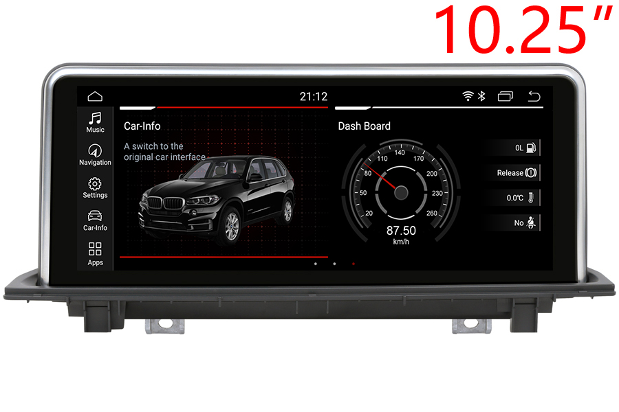 BMW X1 (F48)/X2 (F39) 2015-2020 Autoradio GPS Aftermarket Android Head Unit Navigation Car Stereo