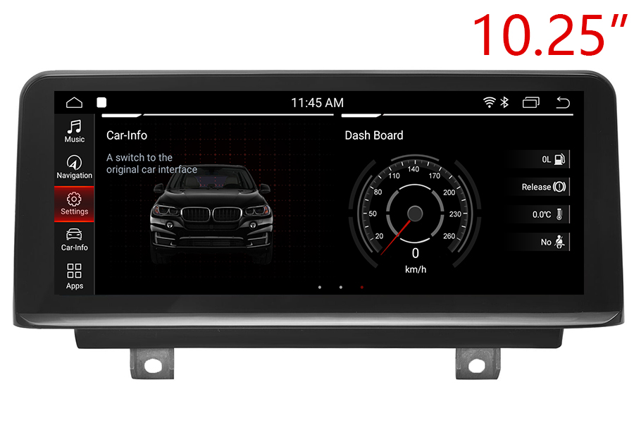 BMW 3/4 Series 2012-2018 Autoradio GPS Aftermarket Android Head Unit Navigation Car Stereo