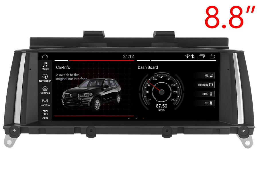 BMW X3 (F25)/X4 (F26) 2010-2018 Autoradio GPS Aftermarket Android Head Unit Navigation Car Stereo