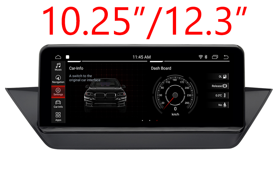 BMW X1 (E48) 2016-2017 Autoradio GPS Aftermarket Android Head Unit Navigation Car Stereo