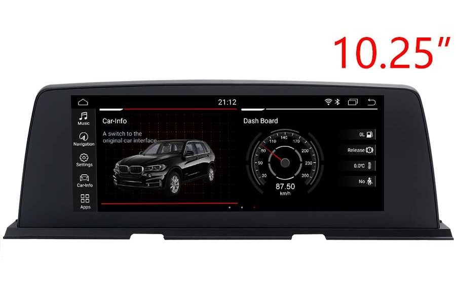 BMW 6 Series (F06/F12/F13) 2011-2018 Autoradio GPS Aftermarket Android Head Unit Navigation Car Stereo