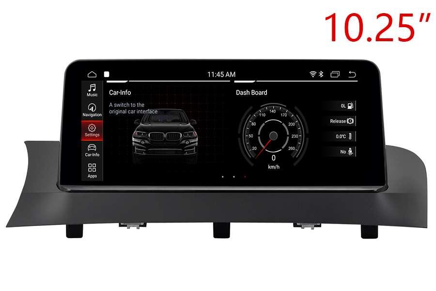 BMW X3 (F25) / X4 (F26) 2010-2018 Autoradio GPS Aftermarket Android Head Unit Navigation Car Stereo