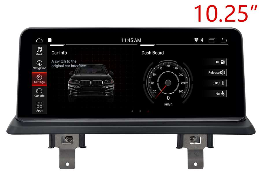 BMW 1 Series (E81/E82/E87/E88) 2004-2012 Autoradio GPS Aftermarket Android Head Unit Navigation Car Stereo