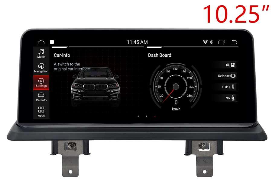 BMW 1 Series E81/E82/E87/E88 Aftermarket radio upgrade 10.25 screen
