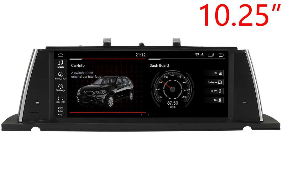 BMW 5 Series GT (F07) 2009-2017 Autoradio GPS Aftermarket Android Head Unit Navigation Car Stereo
