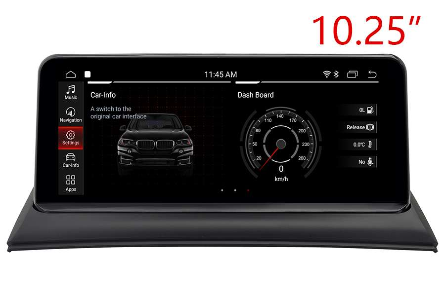 "BMW X3(E83) 2003-2010 radio upgrade with 10.25"" screen ..."