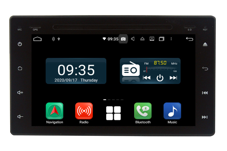 Toyota Hilux 2016-2018 Aftermarket Radio Upgrade