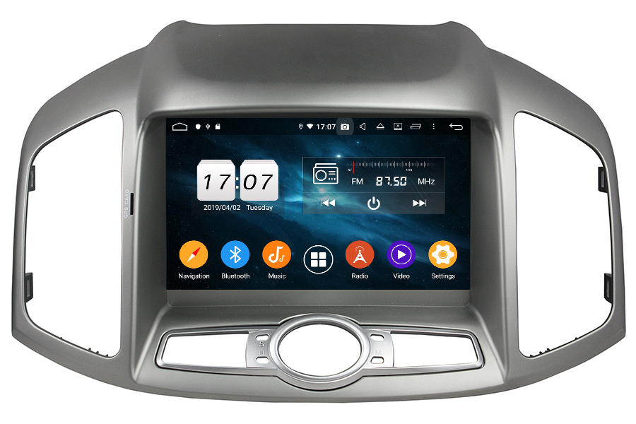 Chevrolet Captiva 2012-2017 Autoradio GPS Aftermarket Android Head Unit Navigation Car Stereo
