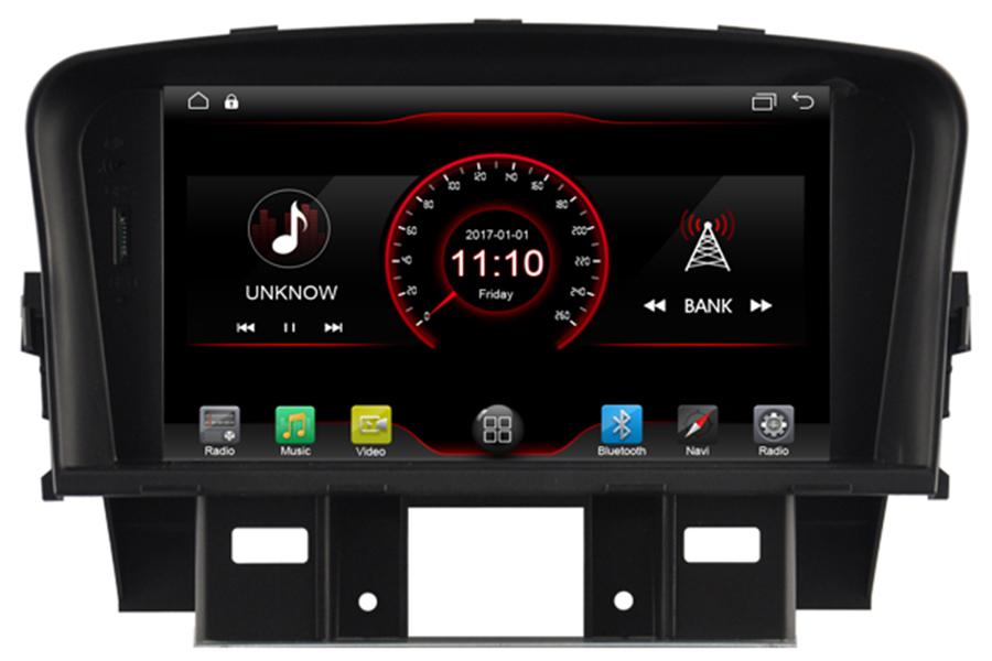 Chevrolet Cruze 2008-2016 Aftermarket Radio Upgrade