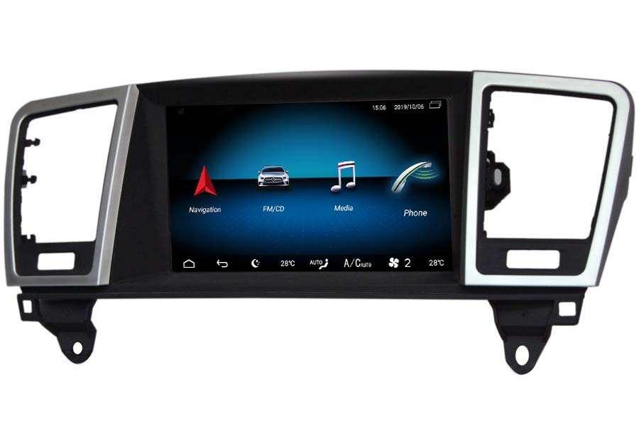 Mercedes-Benz GL-Class (X166)/ML-Class (W166) 2012-2018 Autoradio GPS Aftermarket Android Head Unit Navigation Car Stereo