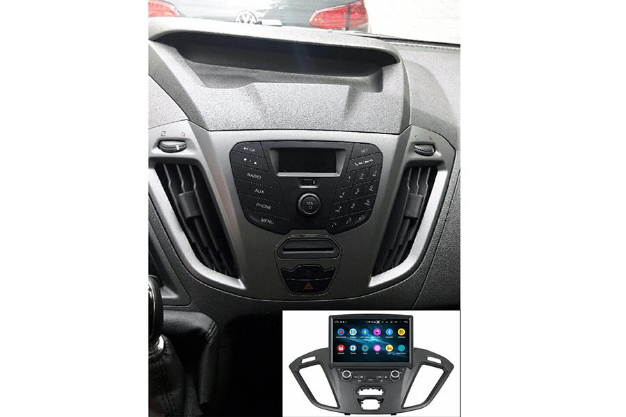 Ford Transit Custom 2016-2018 Aftermarket Radio Upgrade