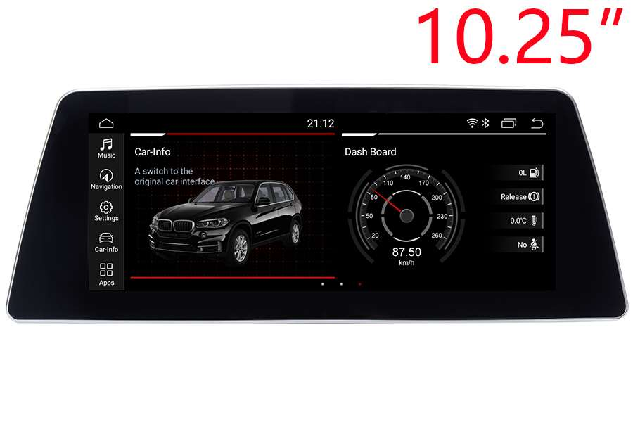 BMW 5 Series (G30/G31/G38) 2017-2018 Autoradio GPS Aftermarket Android Head Unit Navigation Car Stereo