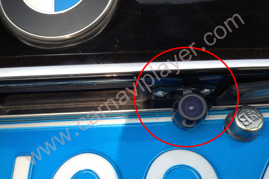 Universal Front/Reverse Camera with screw mounting