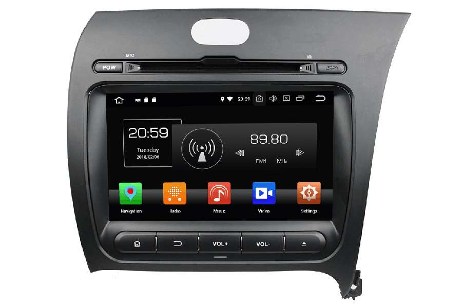 Kia Cerato/Forte/K3 Right Hand Drive 2013-2014 Autoradio GPS Aftermarket Android Head Unit Navigation Car Stereo