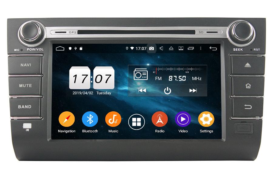 Suzuki Swift 2004-2010 Autoradio GPS Aftermarket Android Head Unit Navigation Car Stereo