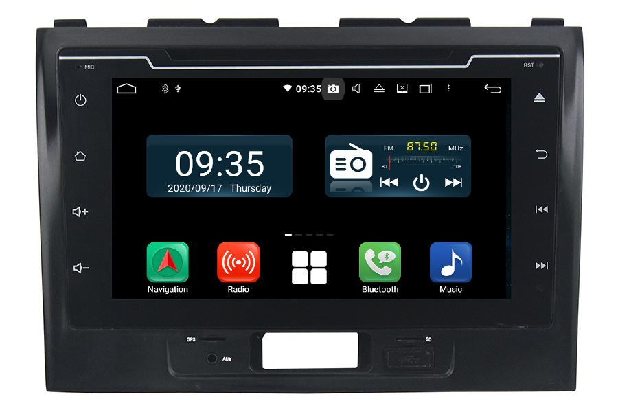 Suzuki Wagon R 2016-2018 Aftermarket Radio Upgrade